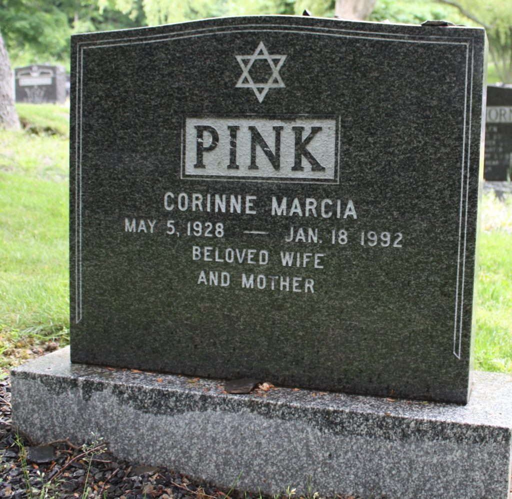 Corinne Marcia Pink