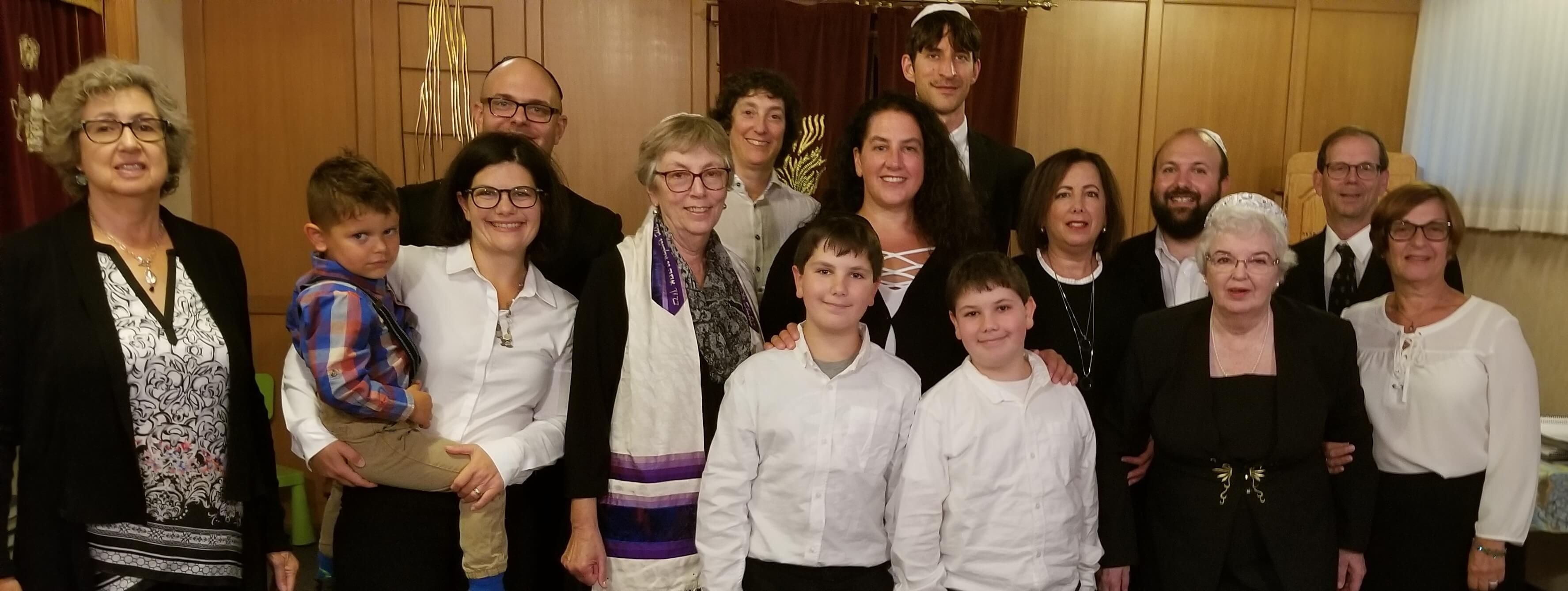 2018 Shaar Shalom Choir